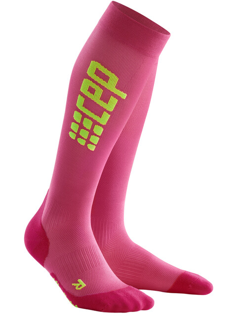 cep Pro+ Ultralight Run Socks Women electric pink/green